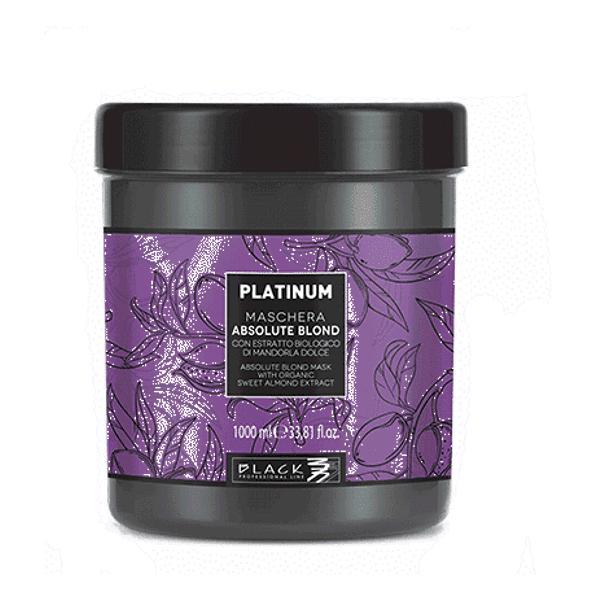 Masca pentru Mentinerea Blondului Perfect - Black Professional Line Absolute Blond Mask Platinum, 1000ml esteto.ro
