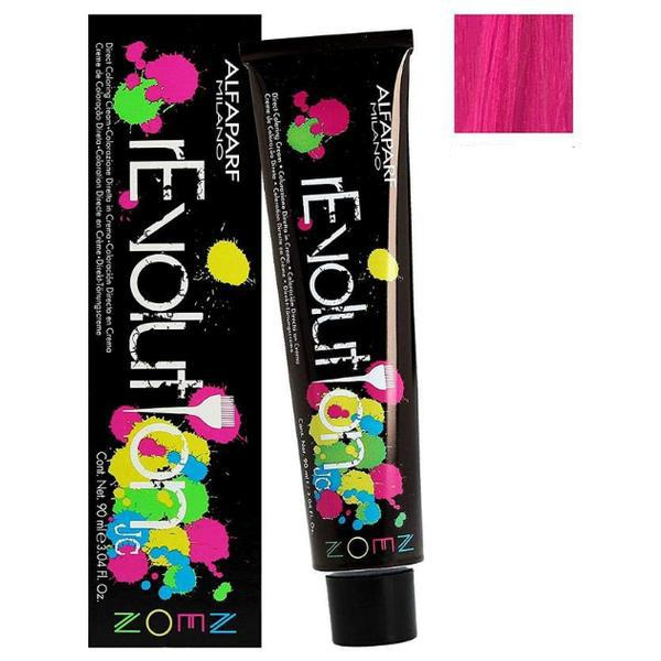 Crema Colorare Directa Roz Excentric - Alfaparf Milano Jean's Color rEvolution Direct Coloring Cream Neon ECCENTRIC PINK 90 ml imagine produs