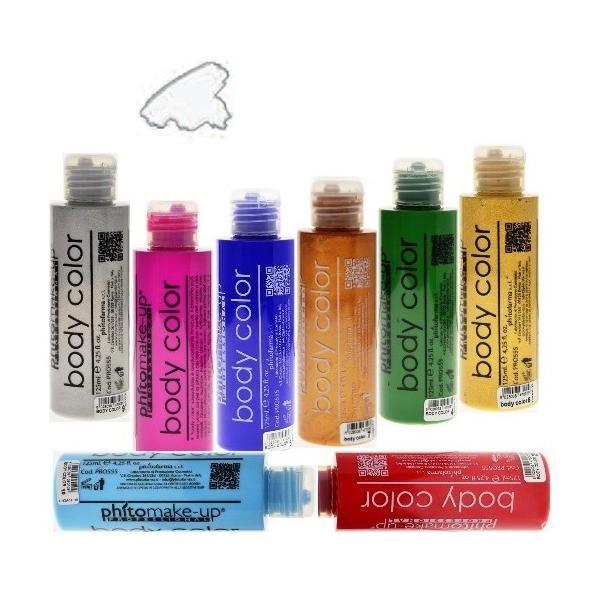 Fard Lichid Hidrosolubil - Cinecitta PhitoMake-up Professional Cerone Liquido Body Color 125 ml nr 3 imagine produs