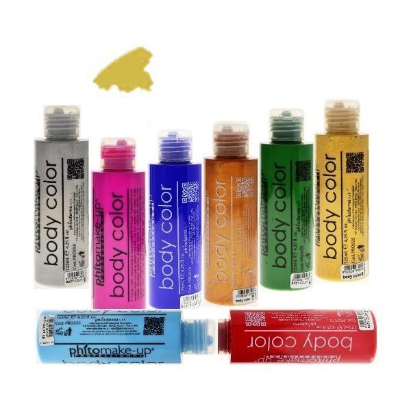 Fard Lichid Hidrosolubil - Cinecitta PhitoMake-up Professional Cerone Liquido Body Color 125 ml nr 6 imagine produs