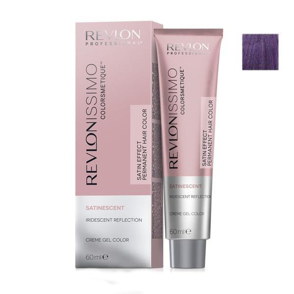 Vopsea Crema Permanenta - Revlon Professional Revlonissimo Colorsmetique Satinescent Permanent Hair Color, nuanta 212 Deep Pearl, 60ml