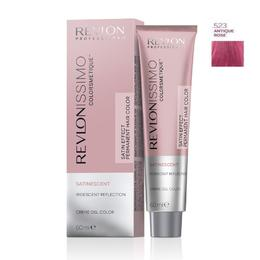 Vopsea Crema Permanenta - Revlon Professional Revlonissimo Colorsmetique Satinescent Permanent Hair Color, nuanta 523 Antique Rose, 60ml