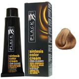 Vopsea Crema fara Amoniac - Black Professional Line Sintesis Color Cream Ammonia Free, nuanta 7.0 Medium Blond, 100ml