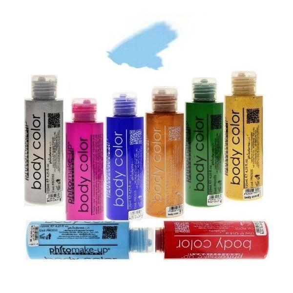 Fard Lichid Hidrosolubil - Cinecitta PhitoMake-up Professional Cerone Liquido Body Color 125 ml nr 10 imagine produs
