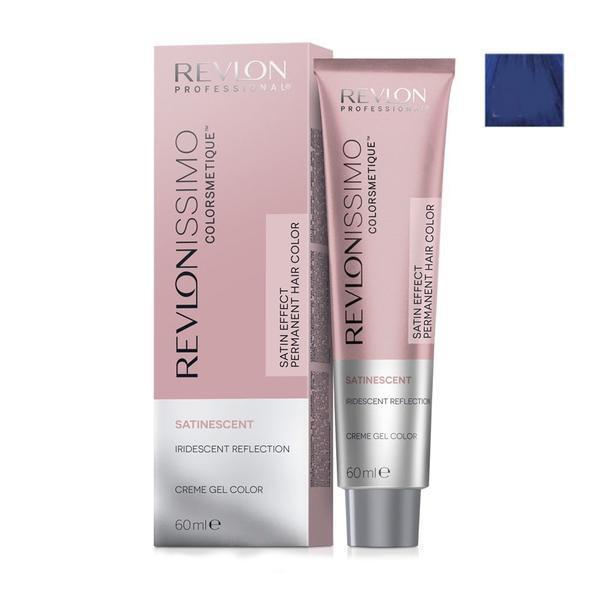Vopsea Crema Permanenta - Revlon Professional Revlonissimo Colorsmetique Satinescent Permanent Hair Color, nuanta 919 Midnight Blue, 60ml