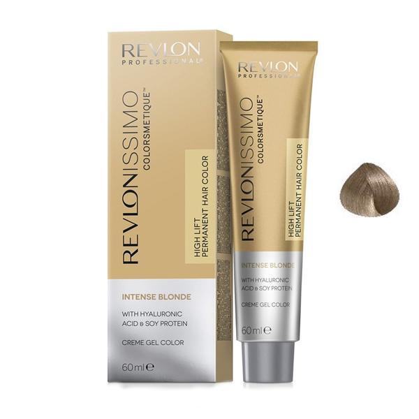 Vopsea Crema Permanenta - Revlon Professional Revlonissimo Colorsmetique Intense Bonde Permanent Hair Color, nuanta 1201 Ash Blonde, 60 ml
