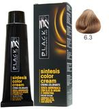 Vopsea Crema fara Amoniac - Black Professional Line Sintesis Color Cream Ammonia Free, nuanta 6.3 Dark Golden Blond, 100ml