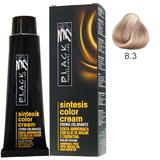 Vopsea Crema fara Amoniac - Black Professional Line Sintesis Color Cream Ammonia Free, nuanta 8.3 Light Golden Blond, 100ml