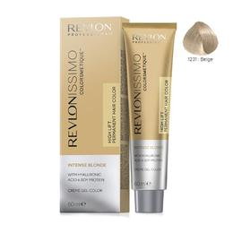 Vopsea Crema Permanenta – Revlon Professional Revlonissimo Colorsmetique Intense Blonde Permanent Hair Color, nuanta 1231 Beige, 60 ml de la esteto.ro