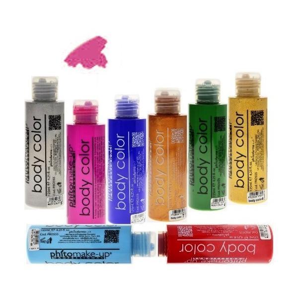 Fard Lichid Hidrosolubil - Cinecitta PhitoMake-up Professional Cerone Liquido Body Color 125 ml nr 15