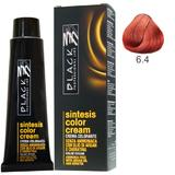 Vopsea Crema fara Amoniac - Black Professional Line Sintesis Color Cream Ammonia Free, nuanta 6.4 Copper Dark Blond, 100ml