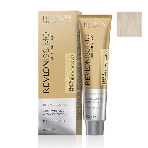 Vopsea Crema Permanenta - Revlon Professional Revlonissimo Colorsmetique Intense Blonde Permanent Hair Color, nuanta 1211 MN Ash, 60 ml