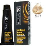 Vopsea Crema fara Amoniac - Black Professional Line Sintesis Color Cream Ammonia Free, nuanta 10.33 Ultra Light Wheat, 100ml