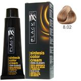 Vopsea Crema fara Amoniac - Black Professional Line Sintesis Color Cream Ammonia Free, nuanta 8.02 Sand, 100ml