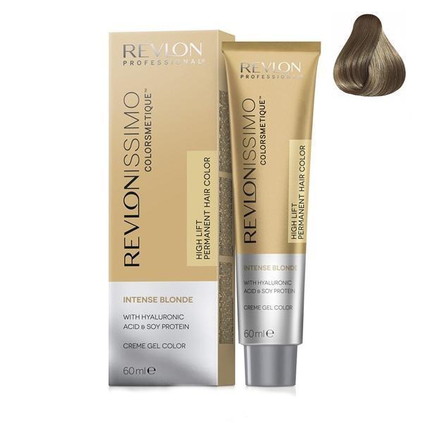 Vopsea Crema Permanenta - Revlon Professional Revlonissimo Colorsmetique Intense Blonde Permanent Hair Color, nuanta 1217 MN Bronze Grey, 60 ml