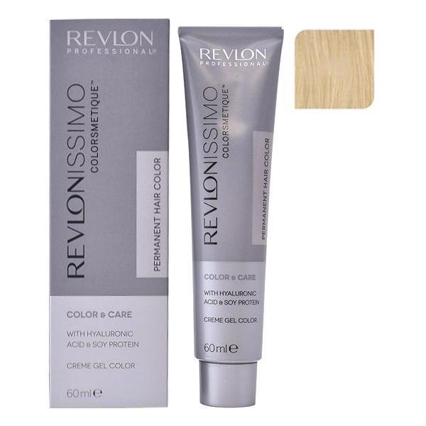 Vopsea Permanenta - Revlon Professional Revlonissimo Colorsmetique Permanent Hair Color, nuanta 10 Lightest Blonde, 60ml