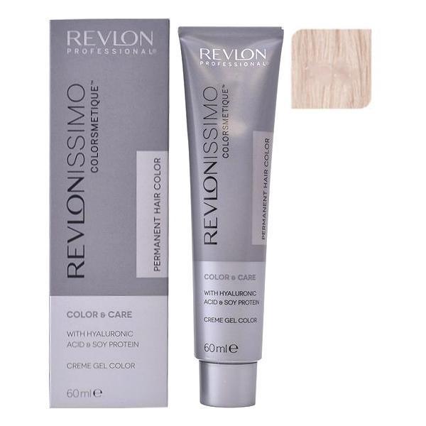 Vopsea Permanenta - Revlon Professional Revlonissimo Colorsmetique Permanent Hair Color, nuanta 10.2 Pale Iridescent Blonde, 60ml esteto.ro
