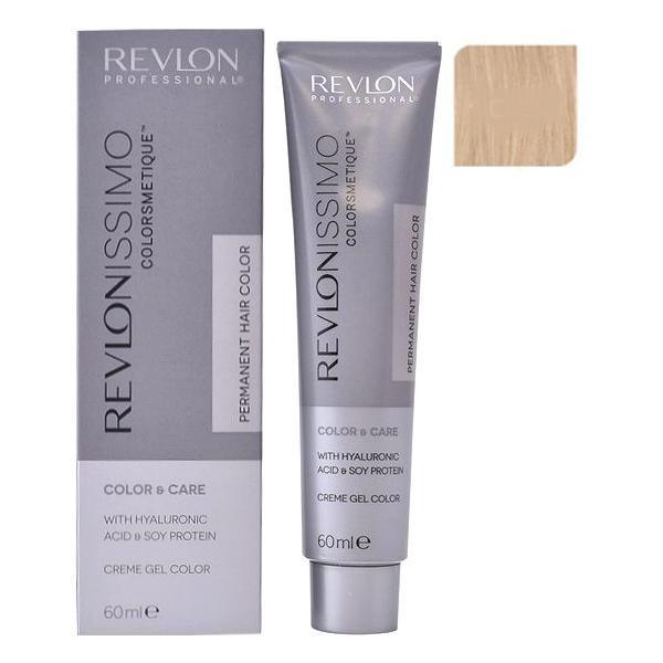 Vopsea Permanenta - Revlon Professional Revlonissimo Colorsmetique Permanent Hair Color, nuanta 10.23 Pale Pearly Beige Blonde, 60ml