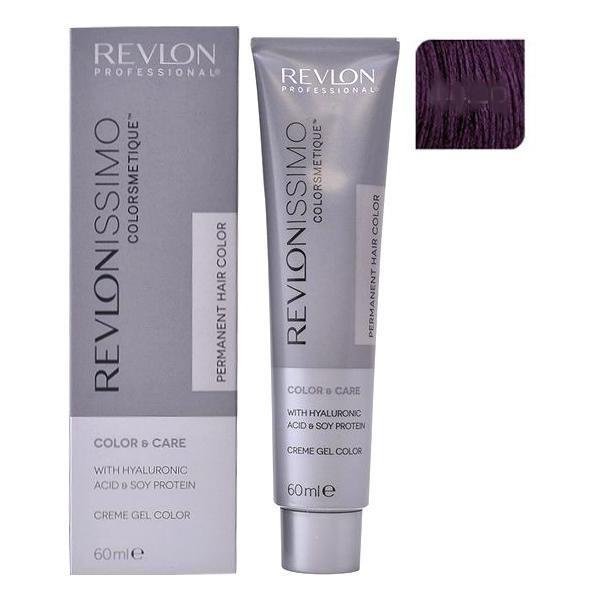 Vopsea Permanenta - Revlon Professional Revlonissimo Colorsmetique Permanent Hair Color, nuanta 44.20 Intense Burgundy, 60ml