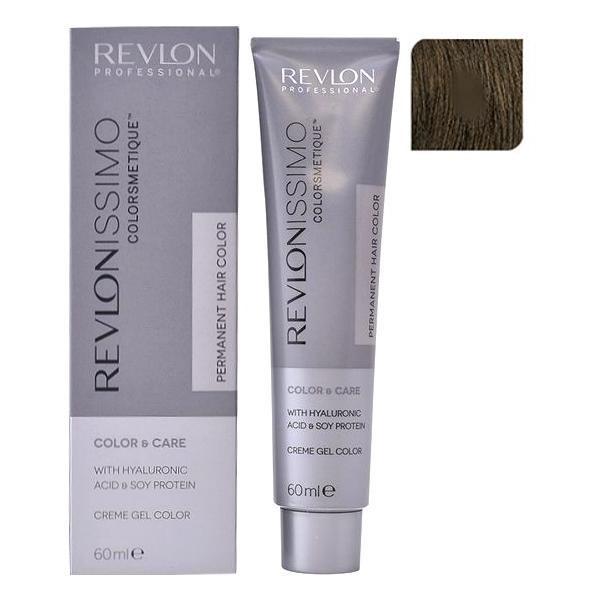 Vopsea Permanenta - Revlon Professional Revlonissimo Colorsmetique Permanent Hair Color, nuanta 5 Light Brown, 60ml