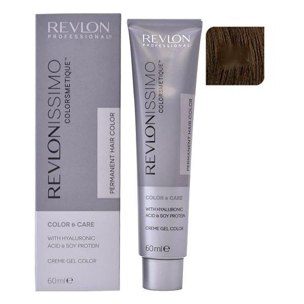 Vopsea Permanenta - Revlon Professional Revlonissimo Colorsmetique Permanent Hair Color, nuanta 5SN Light Brown Super Natural, 60ml