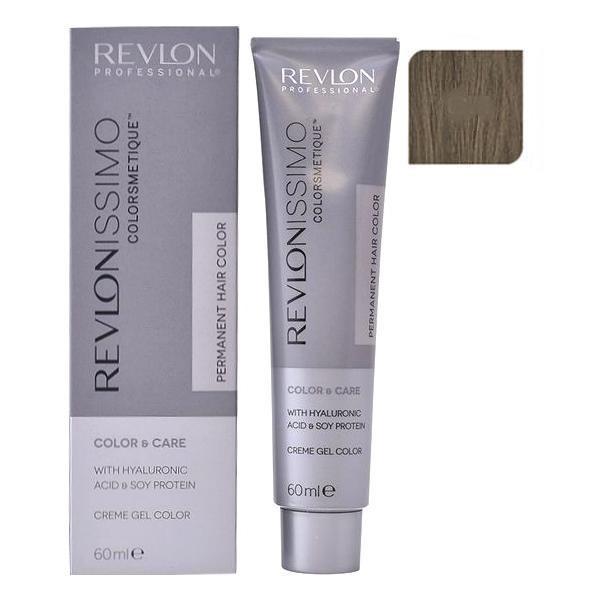 Vopsea Permanenta - Revlon Professional Revlonissimo Colorsmetique Permanent Hair Color, nuanta 6.1 Dark Ash Blonde, 60ml esteto.ro
