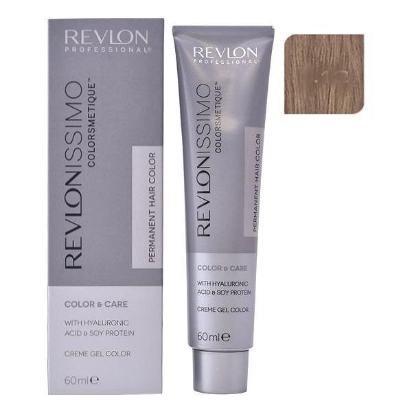 Vopsea Permanenta - Revlon Professional Revlonissimo Colorsmetique Permanent Hair Color, nuanta 6.12 Dark Pearly Blonde, 60ml