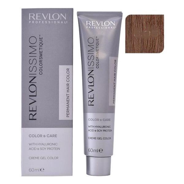 Vopsea Permanenta - Revlon Professional Revlonissimo Colorsmetique Permanent Hair Color, nuanta 6.35 Dark Amber Blonde, 60ml