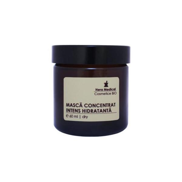 Masca concentrat intens hidratanta, Hera Medical Cosmetice BIO, 60 ml imagine produs