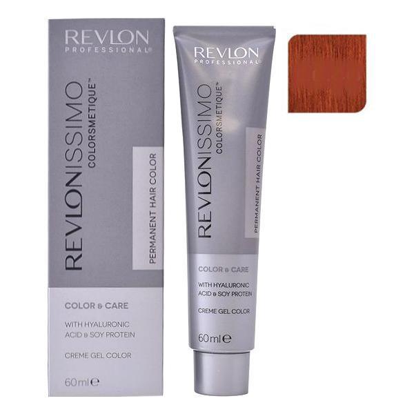 Vopsea Permanenta - Revlon Professional Revlonissimo Colorsmetique Permanent Hair Color, nuanta 66.40 Intense Copper, 60ml