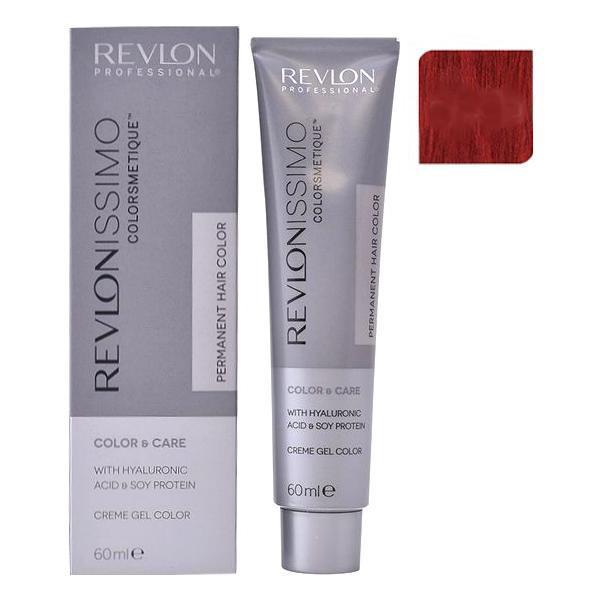 Vopsea Permanenta - Revlon Professional Revlonissimo Colorsmetique Permanent Hair Color, nuanta 66.60 Intense Red, 60ml