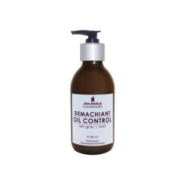 Demachiant oil balancing, Hera Medical Cosmetice BIO, 200 ml imagine