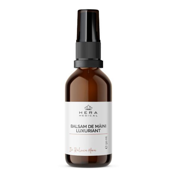 Crema pentru maini lavanda & geraniu, Hera Medical Cosmetice BIO, 50 ml