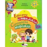 Educarea limbajului + Cunoasterea mediului 3-4 ani - Stefania Antonovici, editura Aramis
