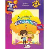 Activitati matematice 3-4 ani - Stefania Antonovici, editura Aramis