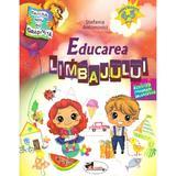 Educarea limbajului 4-5 ani - Stefania Antonovici, editura Aramis