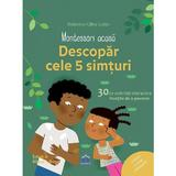 Montessori acasa: descopar cele 5 simturi - Dephine Gilles Cotte, editura Didactica Publishing House