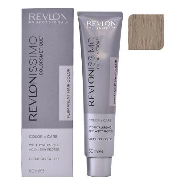 Vopsea Permanenta - Revlon Professional Revlonissimo Colorsmetique Permanent Hair Color, nuanta 8.1 Light Ash Blonde, 60ml