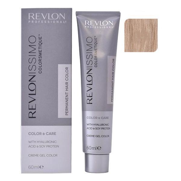 Vopsea Permanenta - Revlon Professional Revlonissimo Colorsmetique Permanent Hair Color, nuanta 8.2 Light Iridescent Blonde, 60ml