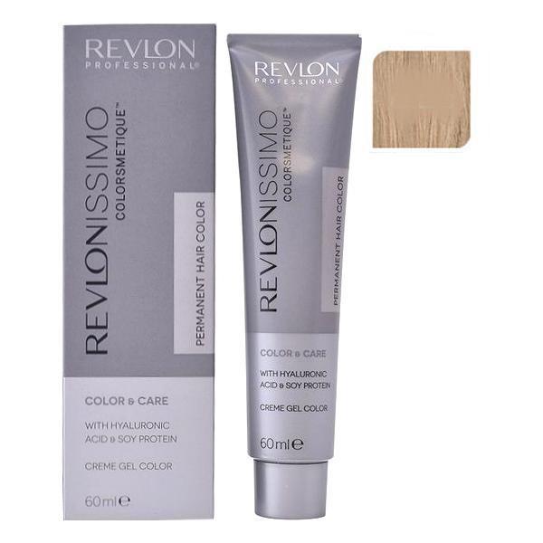 Vopsea Permanenta - Revlon Professional Revlonissimo Colorsmetique Permanent Hair Color, nuanta 8.23 Light Pearly Beige Blonde, 60ml