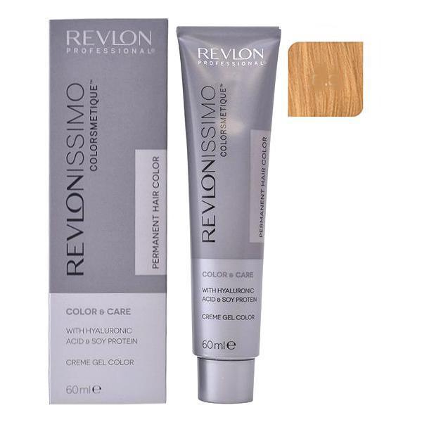 Vopsea Permanenta - Revlon Professional Revlonissimo Colorsmetique Permanent Hair Color, nuanta 8.3 Light Golden Blonde, 60ml