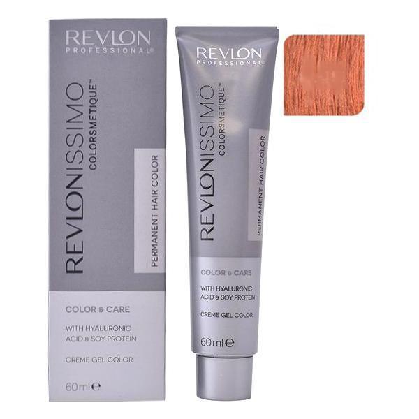 Vopsea Permanenta - Revlon Professional Revlonissimo Colorsmetique Permanent Hair Color, nuanta 8.45 Light Mahogany Copper Blonde, 60ml poza