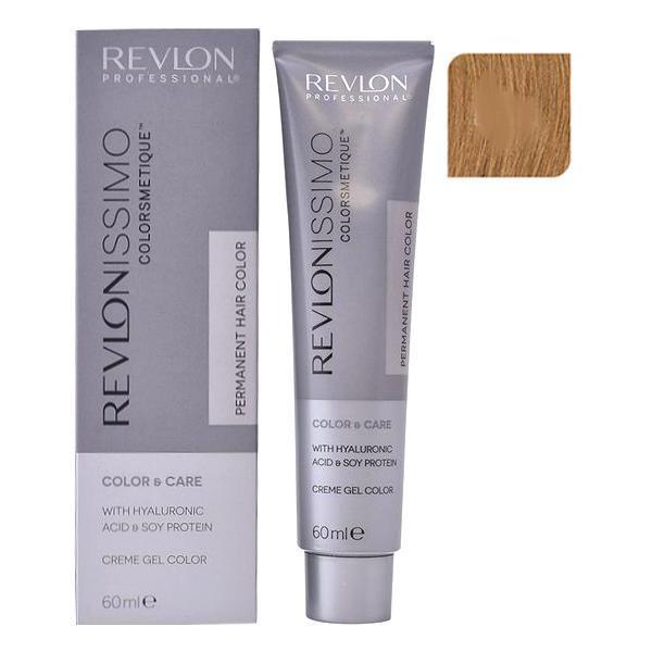 Vopsea Permanenta - Revlon Professional Revlonissimo Colorsmetique Permanent Hair Color, nuanta 8SN Light Blonde Super Natural, 60ml poza