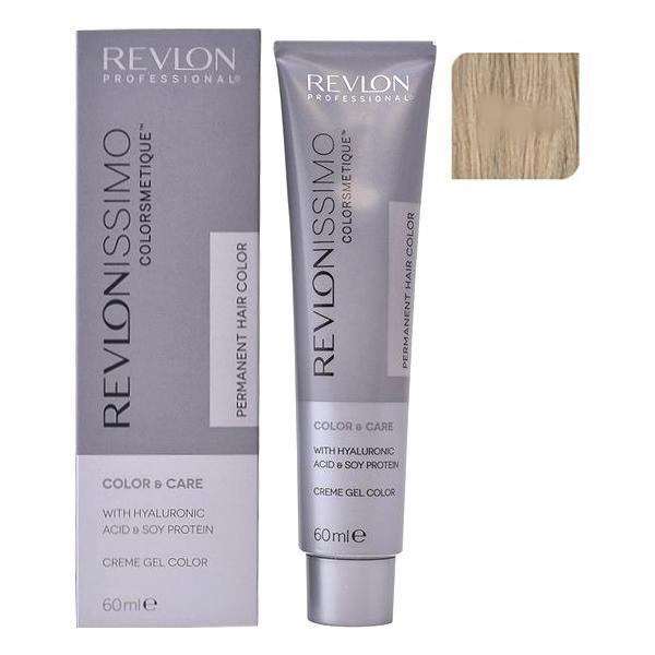 Vopsea Permanenta - Revlon Professional Revlonissimo Colorsmetique Permanent Hair Color, nuanta 9.01 Very Light Natural Ash Blonde, 60ml esteto.ro