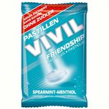 Bomboane fara Zahar Spearmint si Mentol Friendship Vivil, 25 g