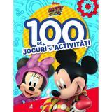 Disney. Mickey si pilotii de curse. 100 de jocuri si activitati, editura Litera