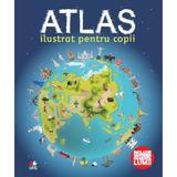 Atlas ilustrat pentru copii, editura Litera