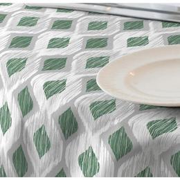 Fata de masa impermeabila, Casa de bumbac, Raute, 180x140 cm, verde