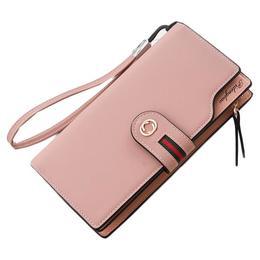 Portofel de dama Hengsheng, PT139, compartimentare multipla, model Pink