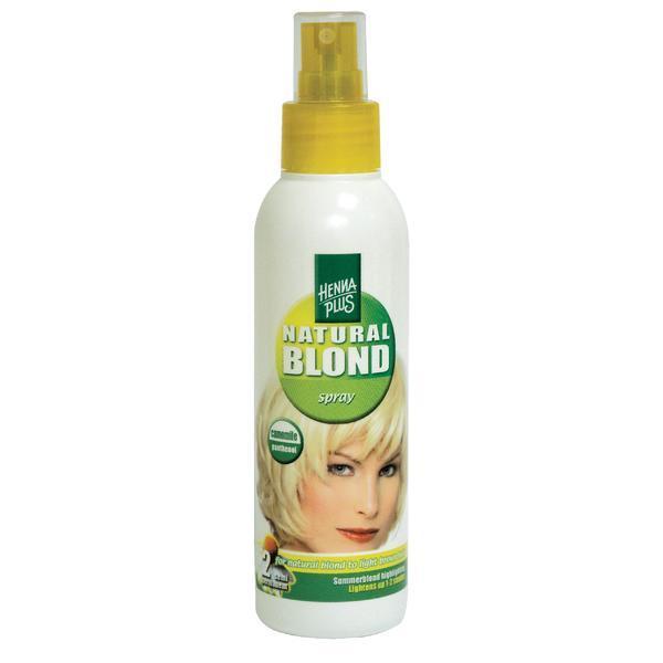 Spray par blond, cu musetel, Hennaplus, 150 ml imagine produs